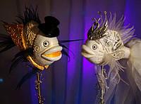 "Рыбки ""Свадебная композиция"", фото 1"