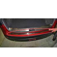 Защитная накладка на задний бампер Nissan Qashqai 2007-