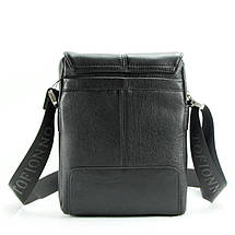 Современная мужская кожаная сумка. Надежный помощник на каждый день, фото 3