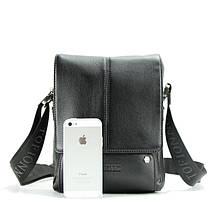 Современная мужская кожаная сумка. Надежный помощник на каждый день, фото 2