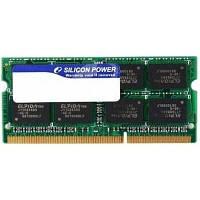 Модуль памяти SoDIMM DDR3 4GB 1333 MHz Silicon Power (SP004GBSTU133N02)