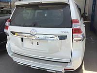 Защитная накладка на задний бампер Toyota FJ150 2009-