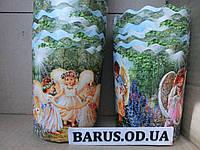 Формы для выпечки куличей  бумажные Ангелы размер  110*85