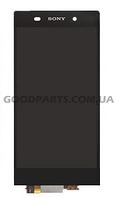 Дисплей с тачскрином для Sony C6902 L39h Xperia Z1, C6906 Xperia Z1, C6943 черный (Оригинал)