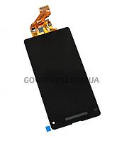 Дисплей с тачскрином для Sony D5503 Xperia Z1 Compact черный (Оригинал)