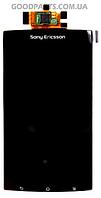Дисплей с тачскрином для Sony Ericsson LT15i Xperia, LT18i Xperia, X12 (Оригинал)