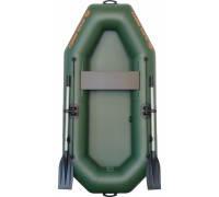 Надувная лодка гребная одноместная Kolibri К-210  серия Light (без настила)