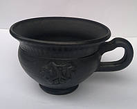 "Гаварецкая дымленая керамика ""Чашка калина"""