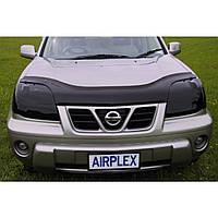 Дефлектор капота ( мухобойка )  Nissan X-Trail 2001-2007