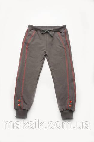 Спортивные брюки для девочки р.98-128см, фото 2