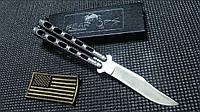 Купить Нож Bear Ops Balisong Silver Speckle