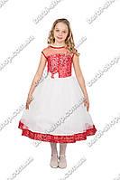 """Красивое детское  платье """"гипюр"""""""