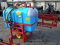 Опрыскиватель штанговый Jar-met на 600 л (12 м)