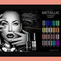 Гель - лаки Naomi Metallic Collection 6 мл