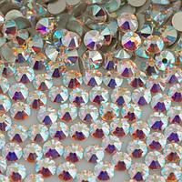 Стразы стекло, ss6 AB, 1440 шт, аналог Swarovski