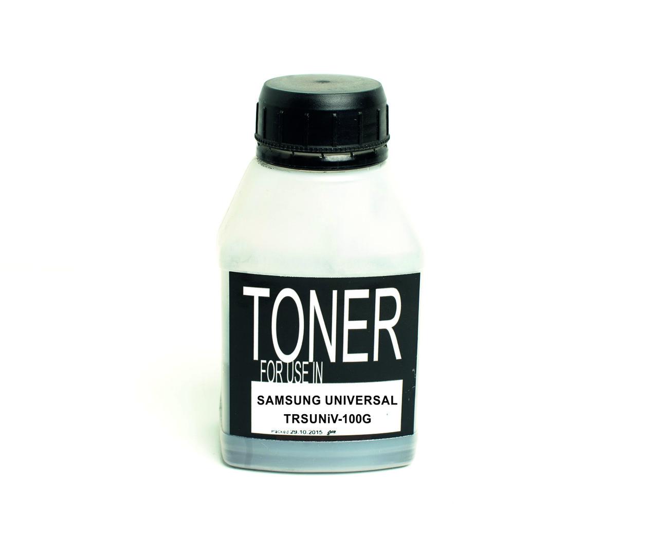 Toнeр-порошок SAMSUNG UNIVERSAL Black (Чёрный, 100 грамм, бутылка)