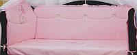 Сменное постельное белье в кроватку Незабудка