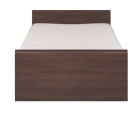 Кровать 90 (каркас) дуб венге Инди (BRW TM)