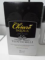 Вино белое сухое Chiare Inzolia 10л (Италия)