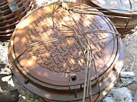 Люк канализационный чугунный для смотровых колодцев типа «Л» (легкий) ГОСТ 3634-89
