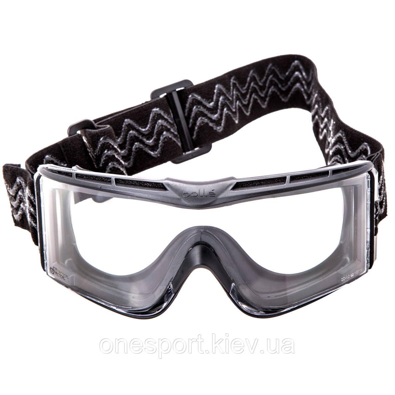 X1NSTDI Очки тактические Bolle X1000 черные с прозрачными линзами + сертификат на 150 грн в подарок (код 249-301241)