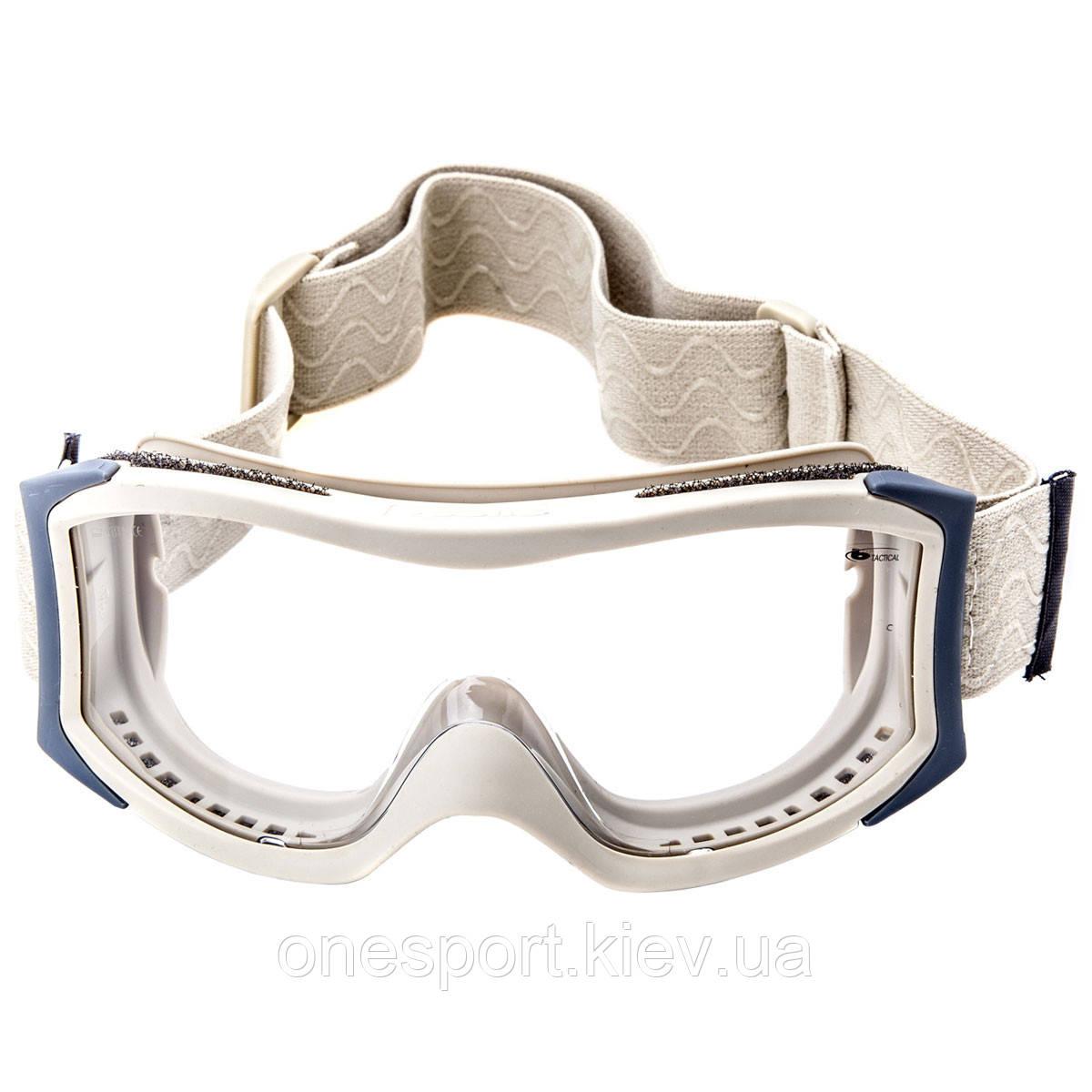 X1SSTDI Очки тактические Bolle X1000 песочные с прозрачными линзами + сертификат на 150 грн в подарок (код 249-301242)