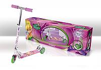 Самокат SD0106 Disney Fairies.світло,50% алюм.,3 колеса PVC,амортизатор