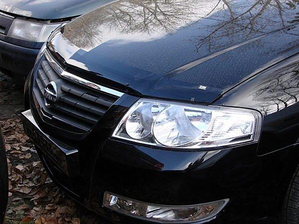 Дефлектор капота ( мухобойка )  Nissan Almera Classic 2005-2012