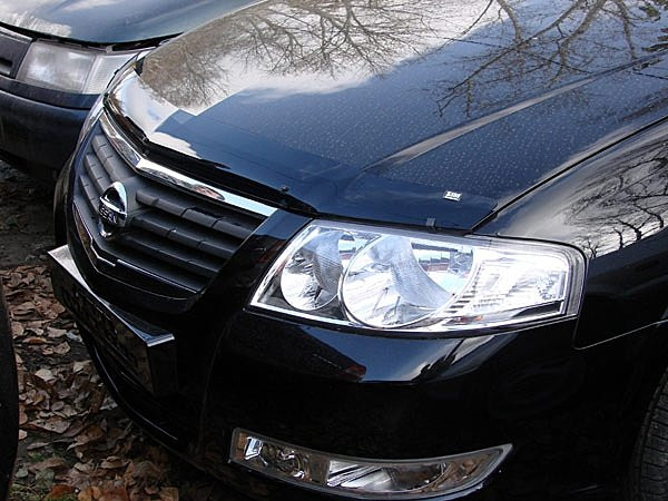 Дефлектор капота ( мухобойка )  Nissan Almera Classic 2005-2012 - AEROKLAS Ukraine в Киеве