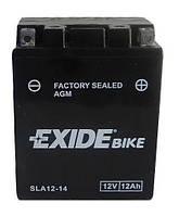 Мото аккумулятор EXIDE AGM12-14