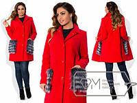 Пальто модель № X3566,размеры 48-54