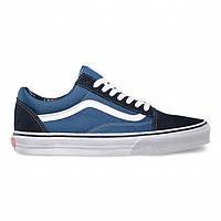 """Кеды Vans Old Skool """"Blue White"""" - """"Синие Белые"""" (Копия ААА+), фото 1"""