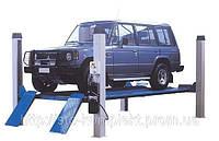 Подъемник четырехстоечный, подъемник автомобильный OMA 520