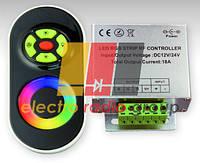 #55/1 black RGB-Контроллер 18 А Радио - Сенсорный