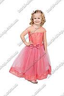 """Праздничное платье для девочки """"гипюр"""""""