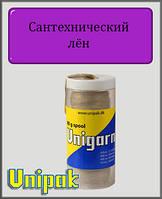 Сантехнический лён Unigarn (шпуля в пластиковом контейнере 80 грамм)
