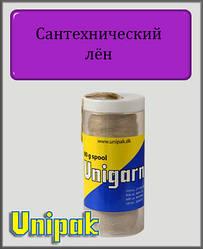 Сантехнічний льон Unigarn (шпуля в пластиковому контейнері 80 грам)