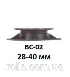 Регулируемая опора для террас высота от 28 до 40мм Buzon BC02