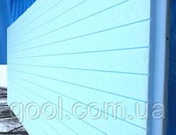 Экструдированный пенополистирол Батэплекс 1200х600х50 мм ЭППС в упаковке 8 листов