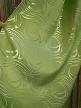 """Штора """"Хвиля"""" зелена, фото 2"""