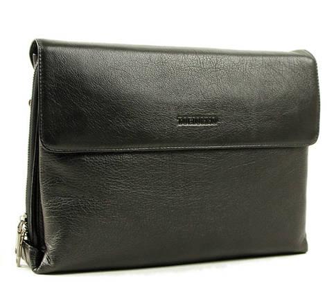 Деловая мужская кожаная сумка-папка под формат А4, фото 2
