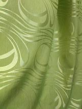 """Штора """"Хвиля"""" зелена, фото 3"""