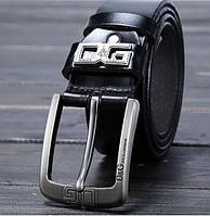 Мужской ремень.Ремень кожаный Dolce&Gabbana. Кожаный. Стильный ремень. Ремни кожаные.
