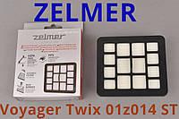 Оригинал 01Z014 ST Zelmer Voyager Twix ZVC332ST Hepa фильтр выходной для пылесоса с мешком и контейнером пыли