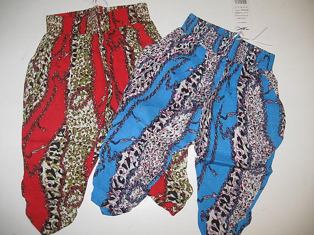 Летние бриджи для девочек, размеры 140, арт. 8552