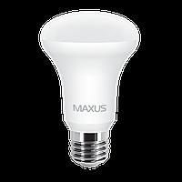 Светодиодная лампа Maxus 1-LED-555 (7W E27 3000K R63) рефлекторная