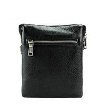 Повседневная мужская сумка из натуральной кожи отличного качества, фото 2