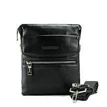 Повседневная мужская сумка из натуральной кожи отличного качества, фото 3