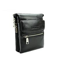 Повседневная мужская сумка из натуральной кожи от Итальянского бренда