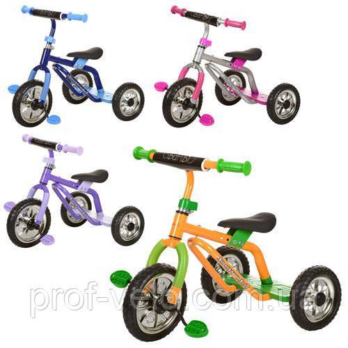 Детский велосипед трехколесный M 0688-1 в ассортименте